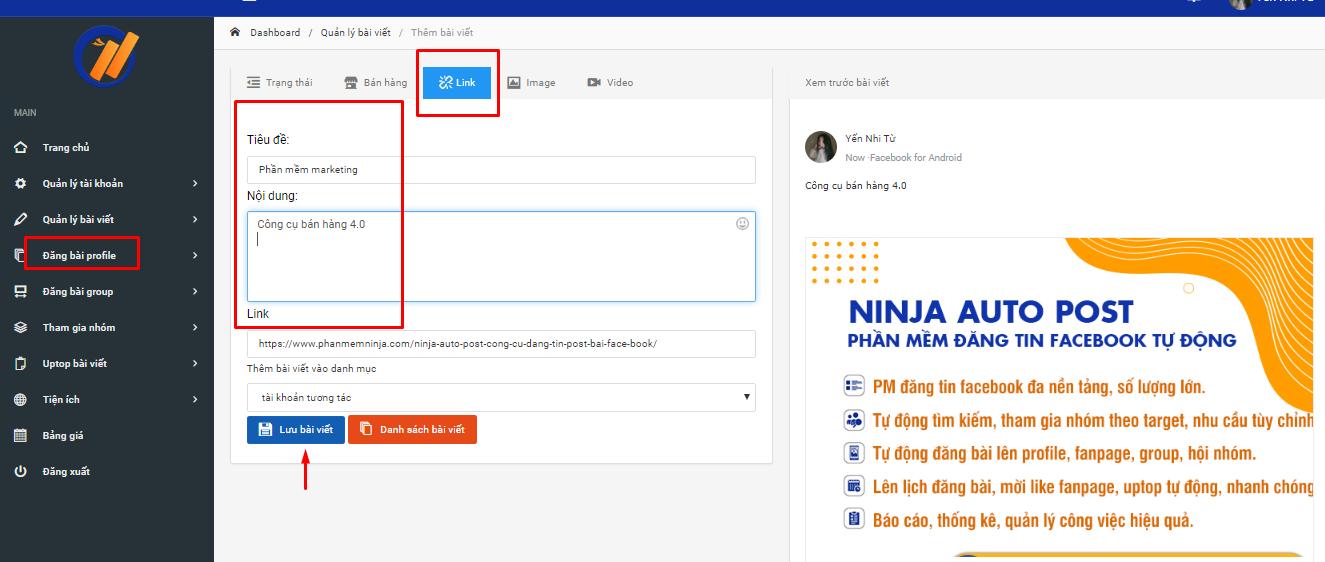 Phần mềm đăng bài quảng cáo hướng dẫn đăng bài kèm link Dang-bai-theo-link2