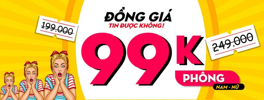 99K , slogan không thể thiếu của các buôi livestream